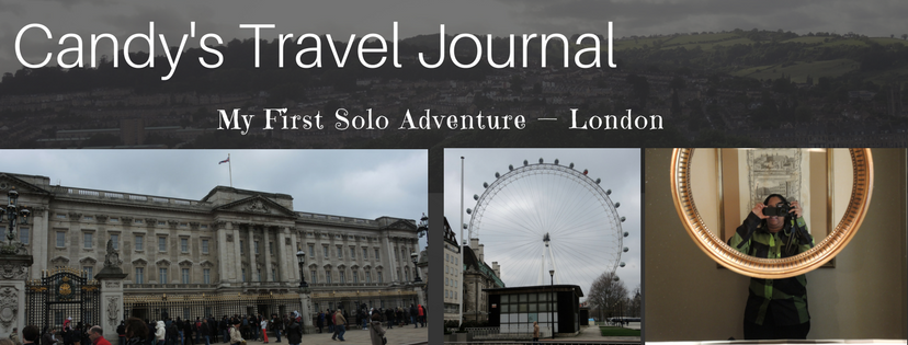 My First Solo Adventure — London