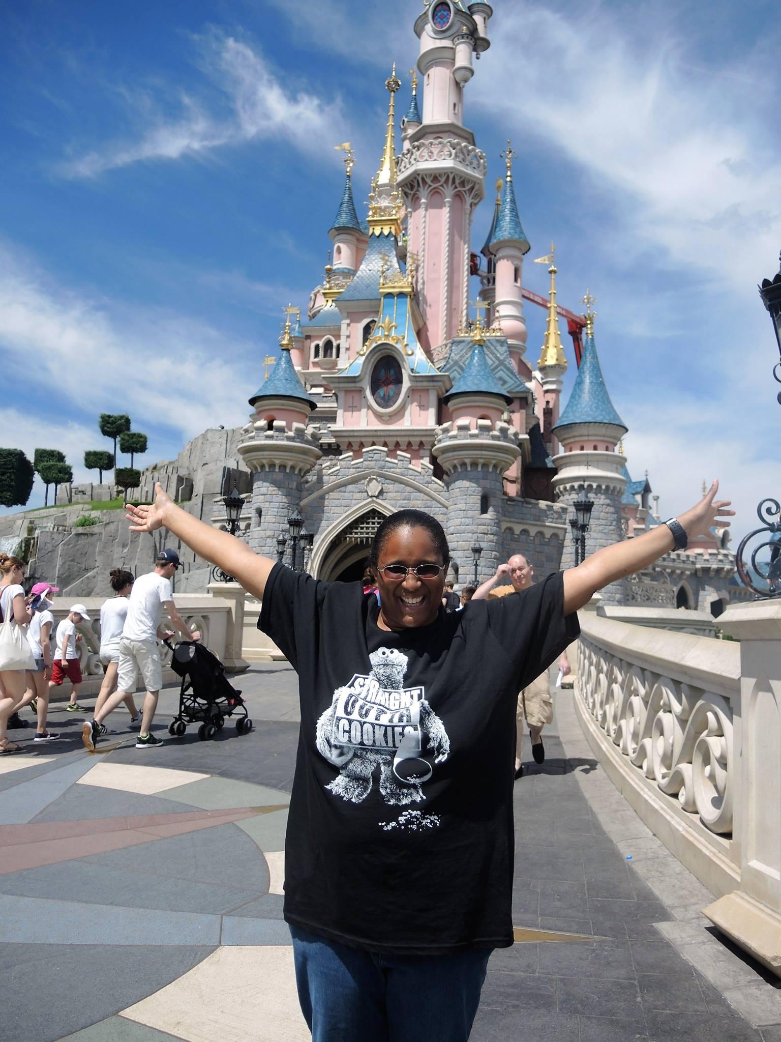 Me at Disneyland Paris