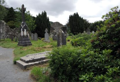 Graveyard at Glendalough Forest Park