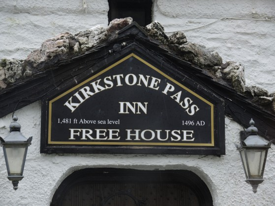 Kirkstone Pass Inn. At 1500ft the Inn is the highest inhabited building in Cumbria and the third highest Inn in England.