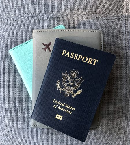 Passport - Never leave home without it. Whether traveling internationally or domestically, your passport is usually always accepted as a official government identification.