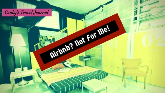 AirBnB Not for me 2