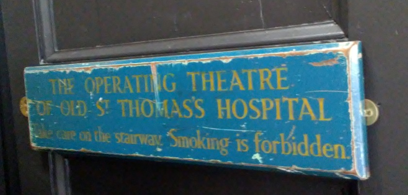 Operating Theatre Sign