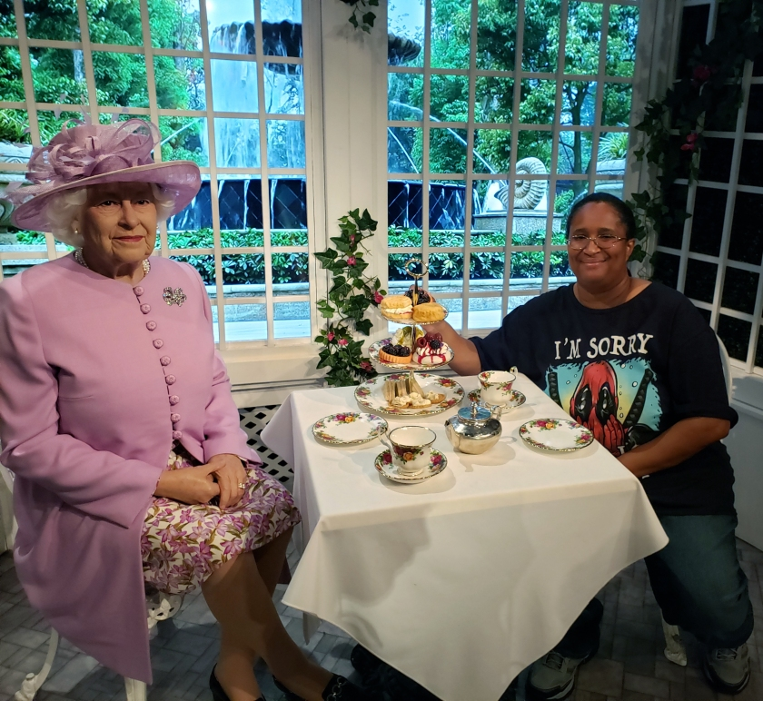Afternoon Tea with Her Majesty, Queen Elizabeth II