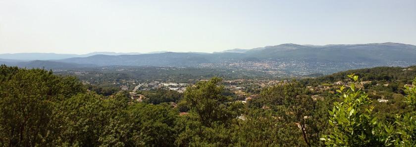 View of Mougins
