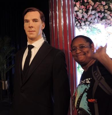 Me and Benedict Cumberbatch