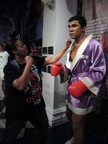 Taking to the Champ, Muhammad Ali