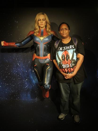 Carol Danvers, aka Captain Marvel