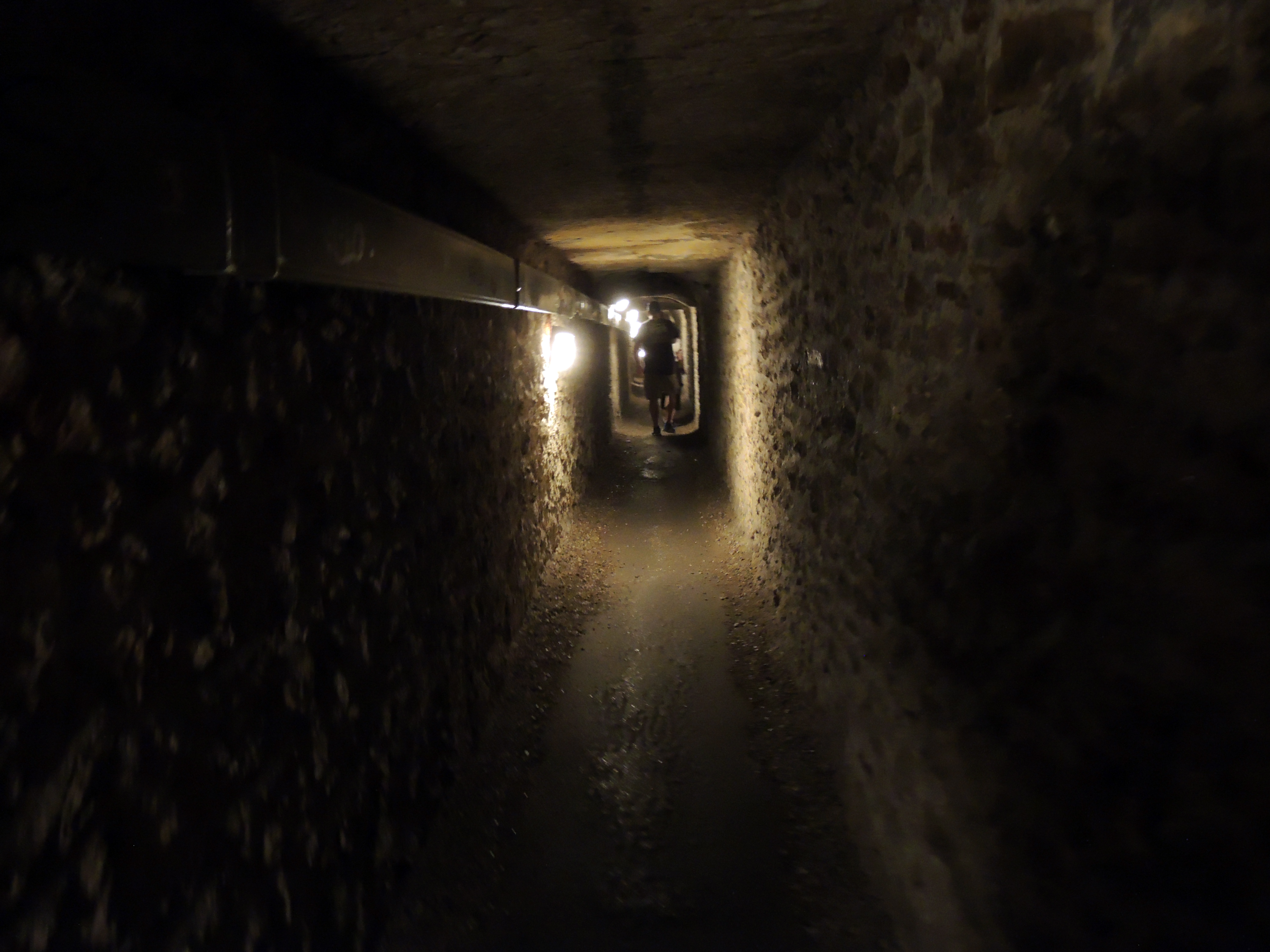 The Catacombs route is 1,500 meters long.