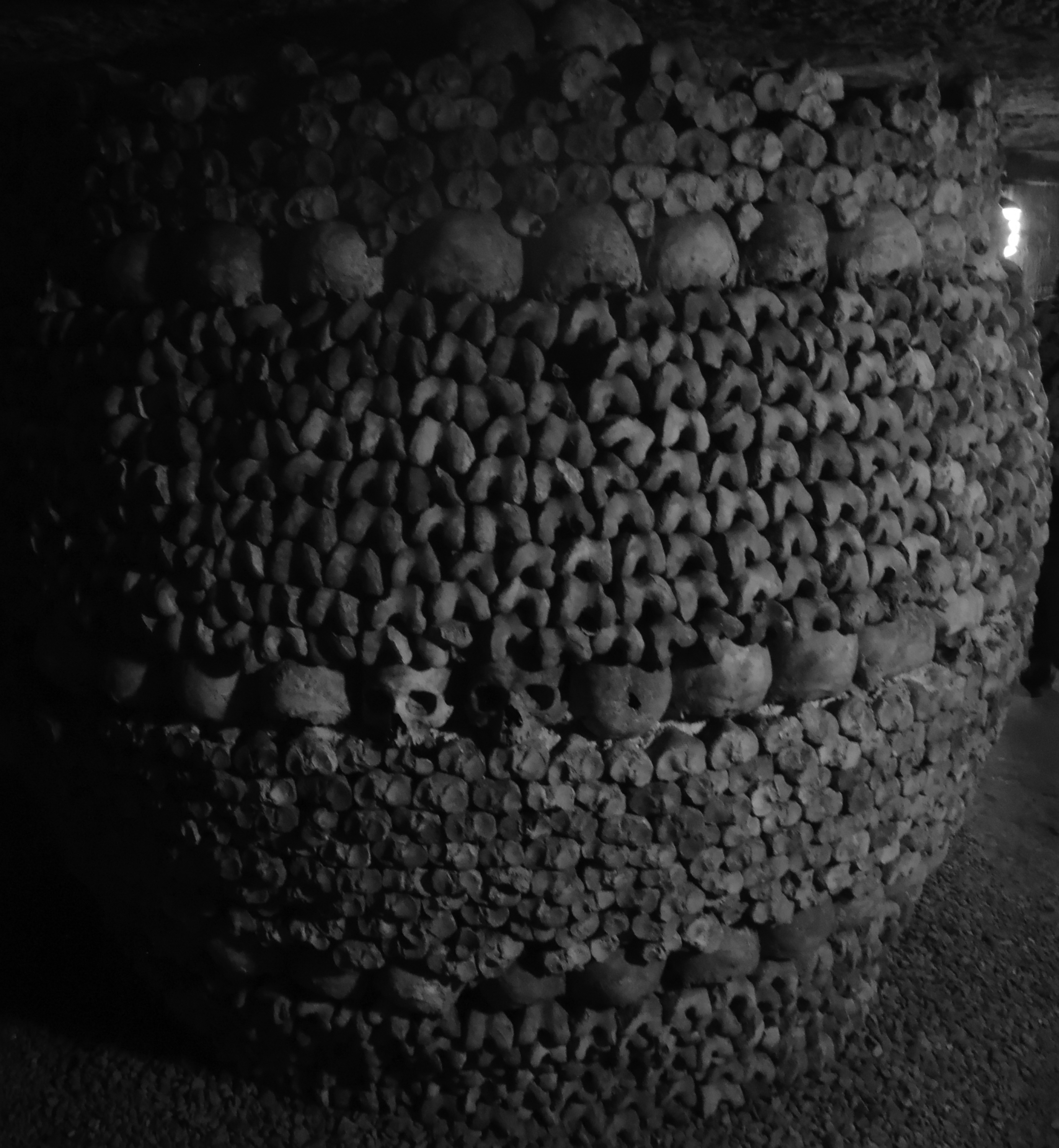 The Barrel, one of the Catacombs most iconic displays