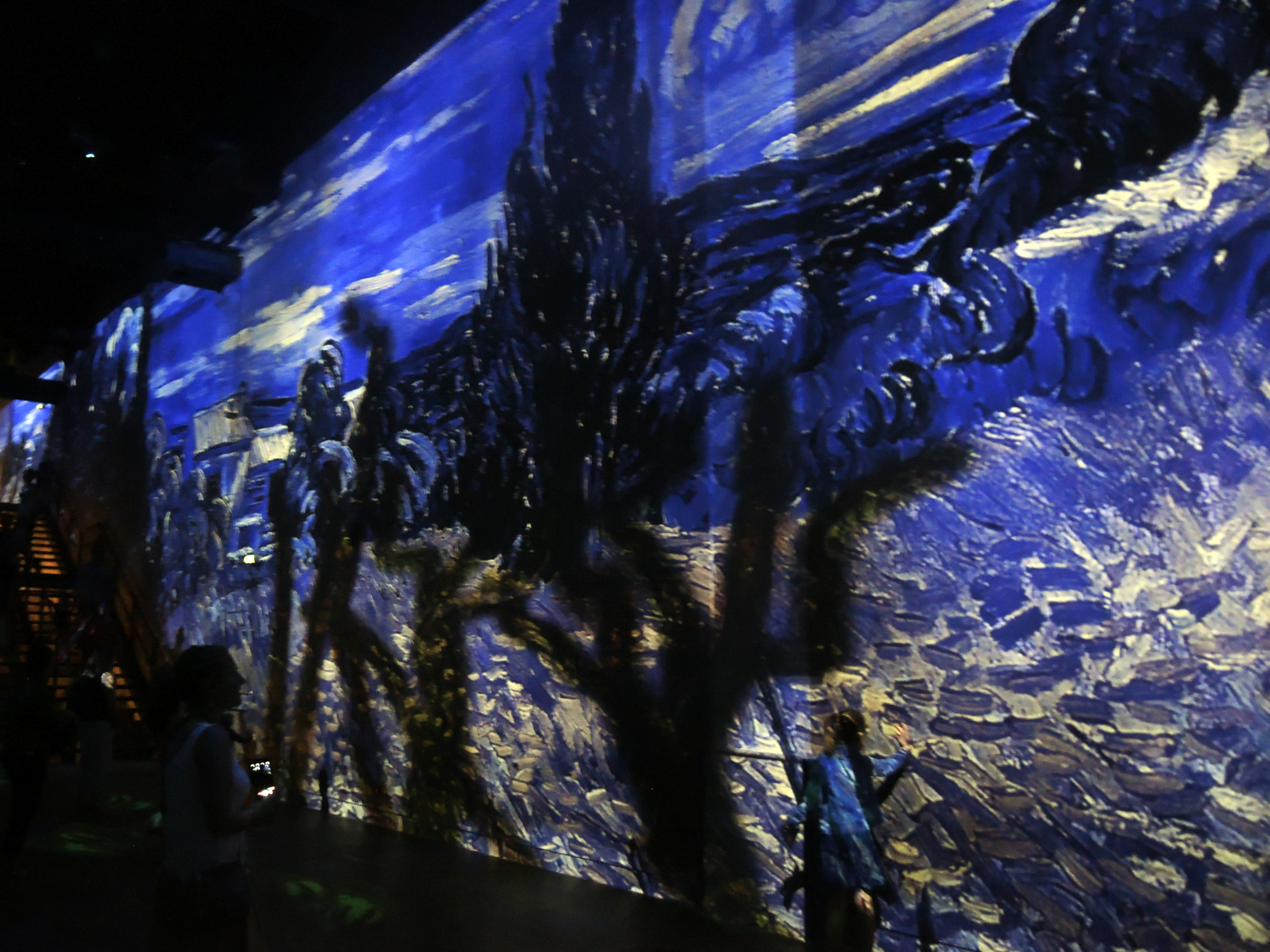 "Atelier des Lumières ""Dreamed Japan, Pictures of the Floating World"""