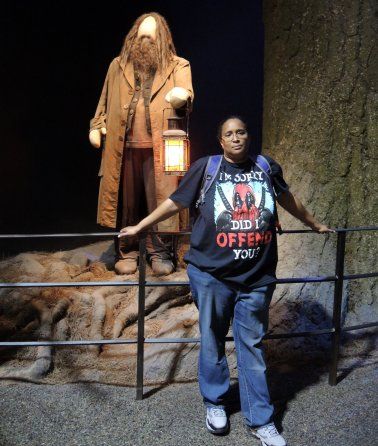Not a Harry Potter fan, so here I 'm unhappy at Warner Bros. Studios Tour London – The Making of Harry Potter.