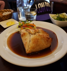 Lamb Wellington - The Little French Restaurant
