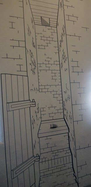 Drawing of a Garderobe