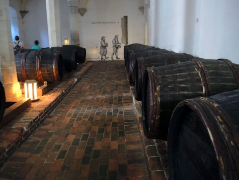 Wine Cellar Hampton Court Palace