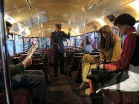 on bus older