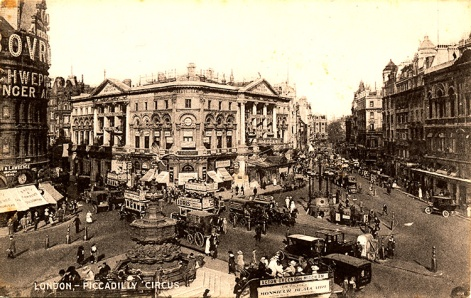 Piccadilly Circus Late 1800