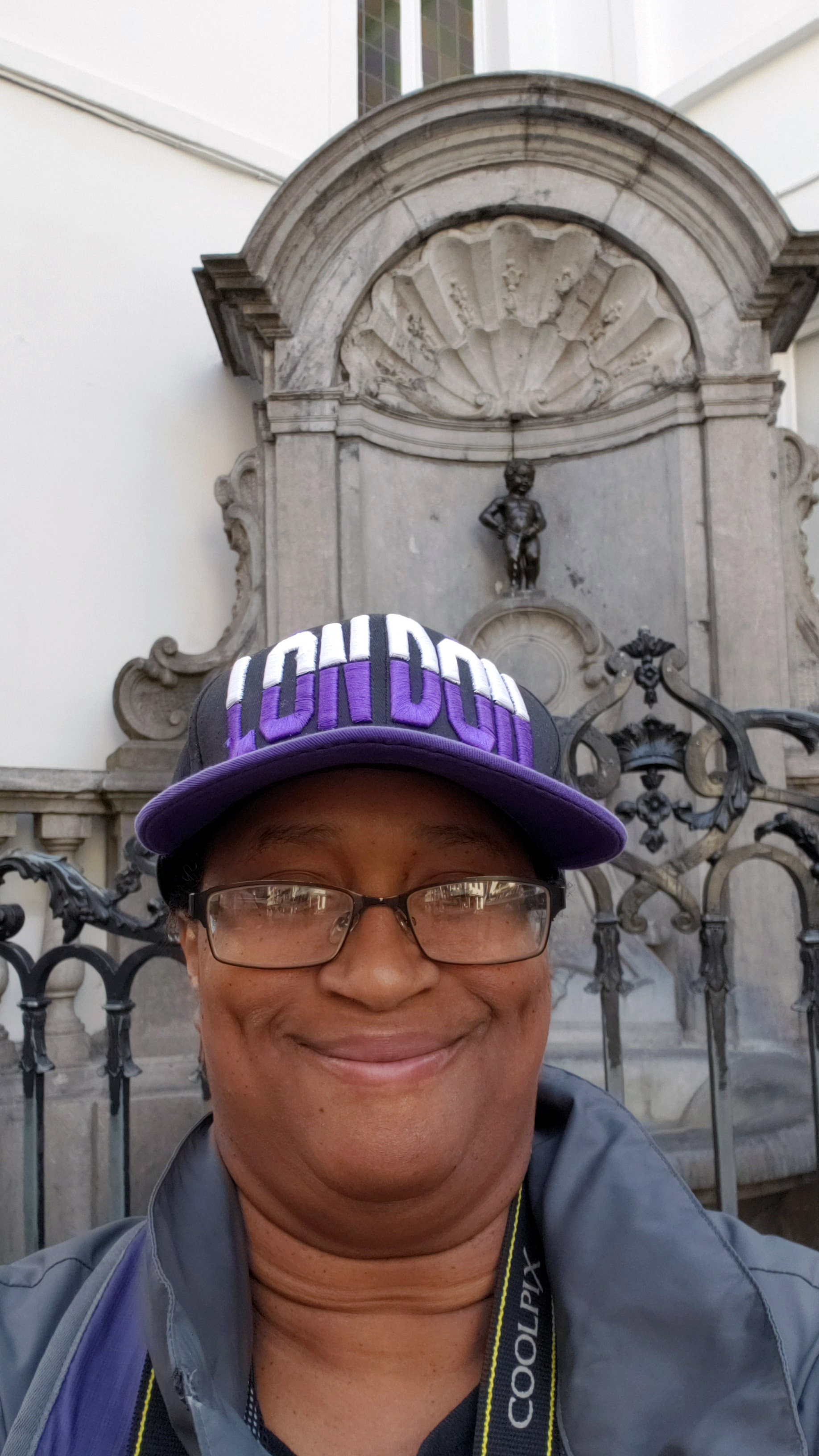 Me at Manneken Pis