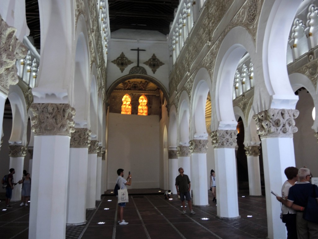 Inside the Synagogue of Saint Mary the White