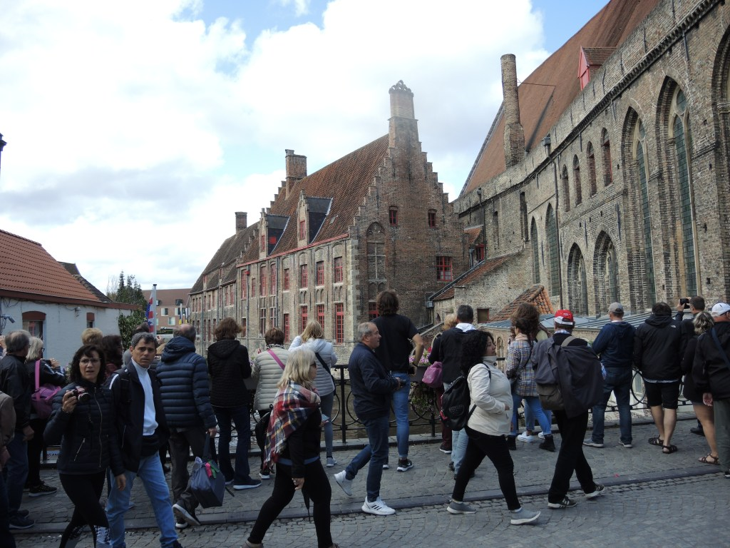 Bruges tourists