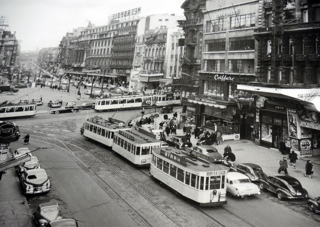 Brussels mid-20th century.