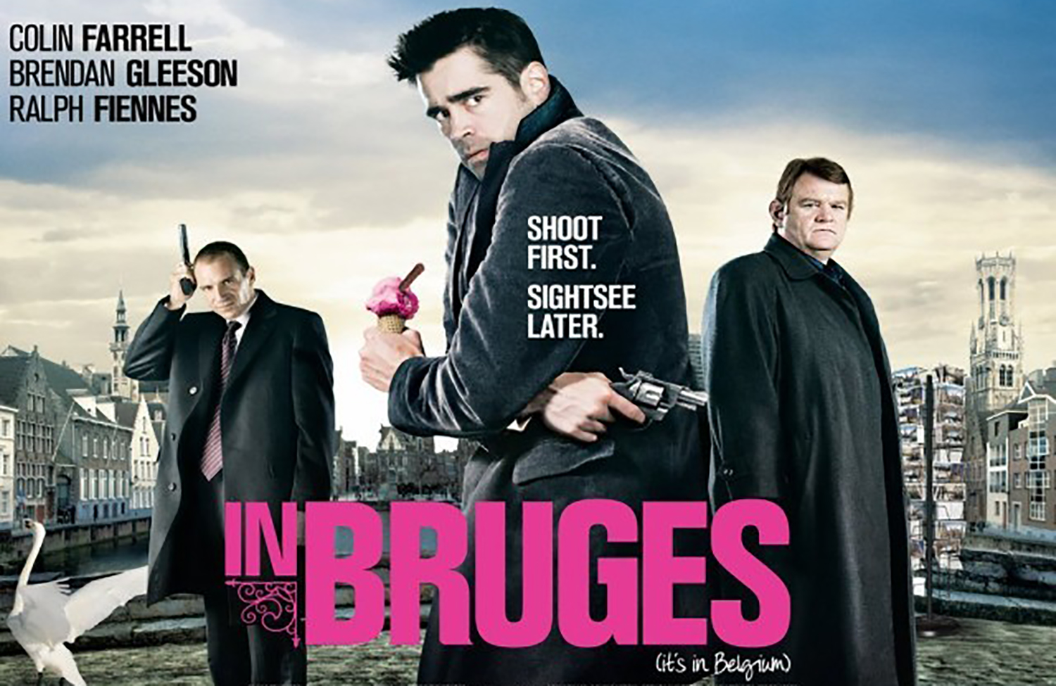 In Bruges — the movie sparked my interest in Brugge