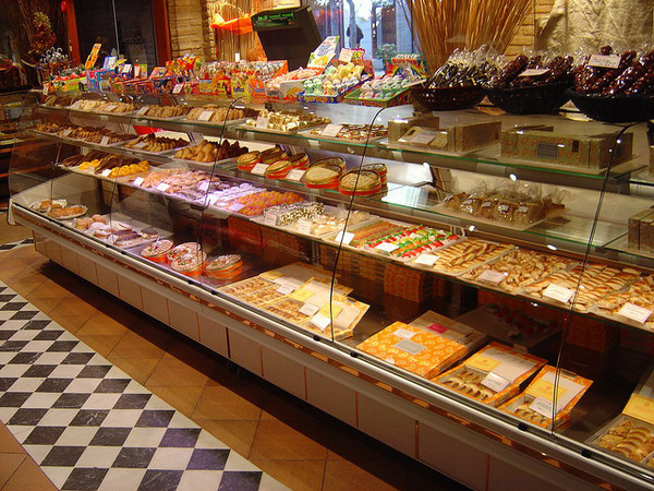 One of Toledo's many marzipan shops