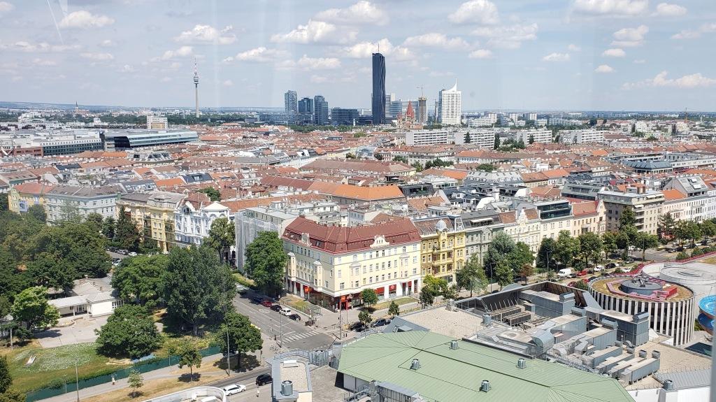 View of Vienna from Wiener Riesenrad