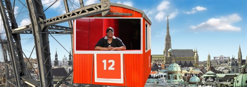 Me on the Wiener Riesenrad
